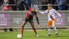 01-02-2020: Voetbal: De Treffers v VV Katwijk: Groesbeek                        Dilivio Hoffman van De Treffers, Bart Sinteur van VV Katwijk