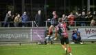 01-02-2020: Voetbal: De Treffers v VV Katwijk: Groesbeek            Coen Maertzdorf van De Treffers blij met zijn goal, 2-2