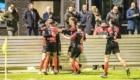 01-02-2020: Voetbal: De Treffers v VV Katwijk: Groesbeek                  De Treffers viert de 2-2